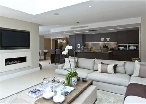 Open Living Room Design Plans