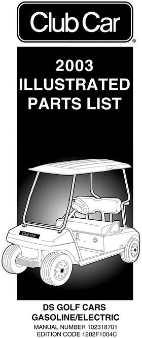 car repair manuals online pdf 1994 ford club wagon free book repair manuals 2003 club car ds gas electric parts list download manuals