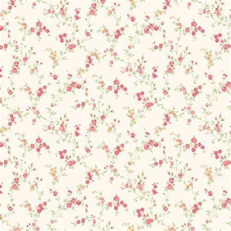 shabby chic pink wallpaper caramel red m0761 cosy posy miniature floral shabby chic coloroll wallpaper miniature