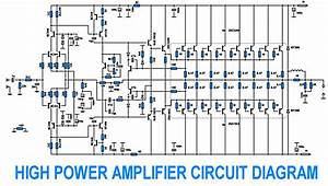Wiring Schematic Diagram  700w Power Amplifier With