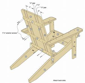 Working Plans Shed Plans And More Folding Adirondack Chair Project