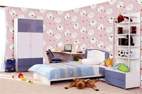 tips memilih  memasang wallpaper dinding kamar anak
