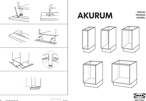 Kitchen Cabinets Installation Manual by Akurum Base Cabinet Assembly Cabinets Matttroy