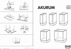 Akurum Base Cabinet Assembly Instructions