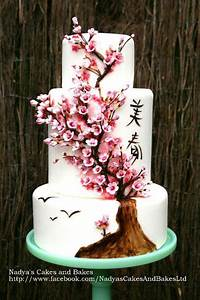 You have to see Japanese cherry blossom cake by nadyatk!