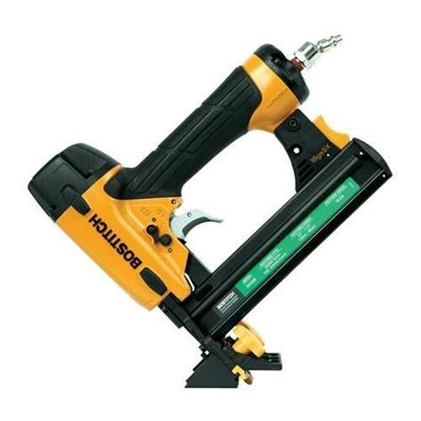 home depot flooring stapler stanley bostitch floor stapler ehf1838k nail gun depot