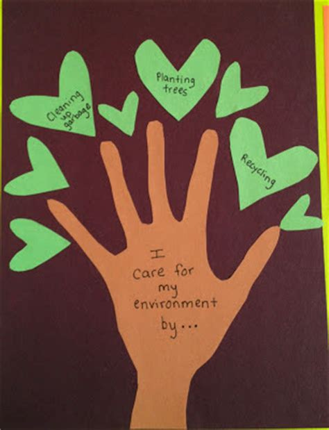 lesson plan ideas how to make a quot caring for creation quot tree
