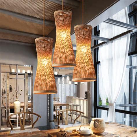 modern jute pendant lights for living room bedroom