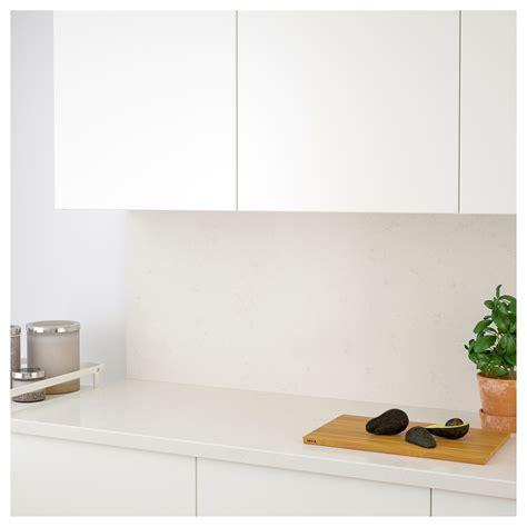 revetement mural cuisine ikea råhult revêtement mural sur mesure effet marbre blanc