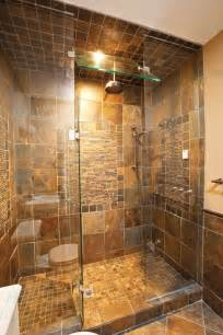 Pictures of High End Small Bathroom Tile Showers