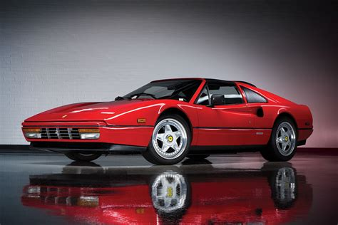 The 328 gtb model, together with the targa roof 328 gts variant, were the final developments of the normally aspirated transverse v8 engine 2 seat series. Auction Block: Ferrari Performance Collection | HiConsumption