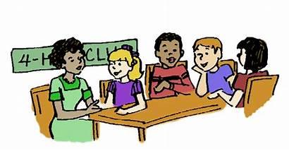 Meeting Clipart Clip Club Teacher Parent Student