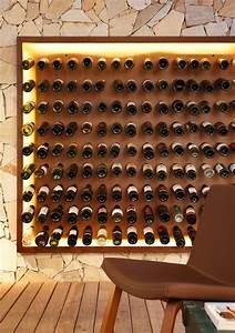 Cave À Vin Design : nosotros bar avec meuble bar design et mur facett lumineux ~ Voncanada.com Idées de Décoration
