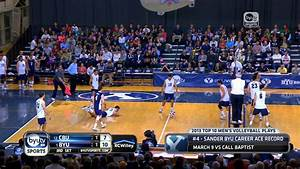 2013 BYU Men's Volleyball Top 10 - YouTube