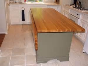 portable kitchen island with drop leaf pecan custom wood countertops butcher block countertops