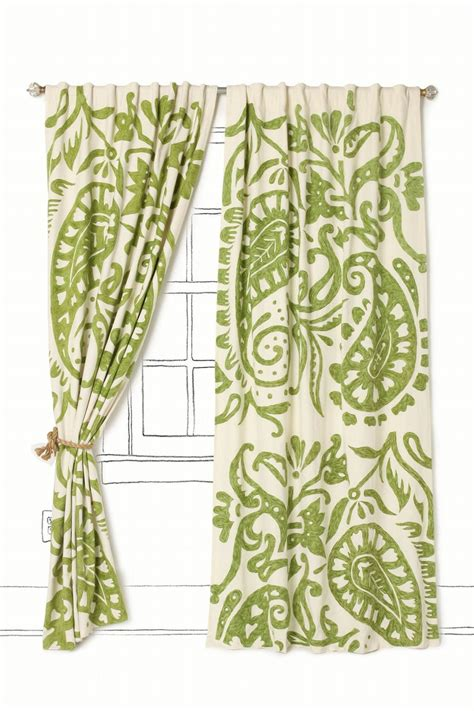 Green Paisley Curtains by Carved Wood Jewelry Box Music Do Patterns And Paisley Print