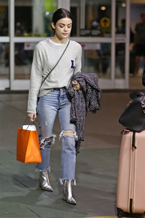 Lucy Hale - Arriving in Vancouver 11/14/17 | Lucy hale ...