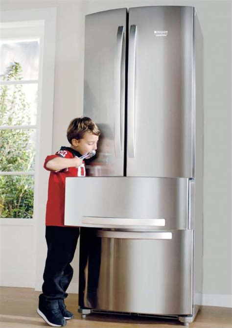 ergonomic  doors fridge quadrio  hotspot