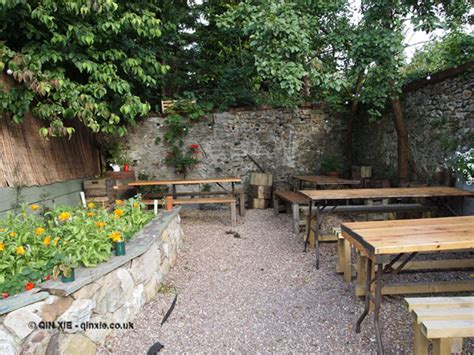 Courtyard Garden At River Cottage Axminster  In Pursuit