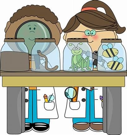 Clipart Science Scientist Lab Clipartion