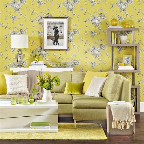 Living room wallpaper – Wallpaper for living room – Grey