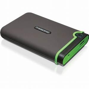 Transcend 500GB StoreJet 25M3 External Hard Drive TS500GSJ25M3