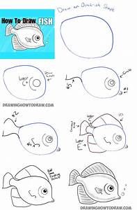 Drawing Fish Step By Step How To Draw A Cute Fish Cartoon ...