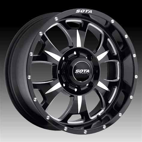Sota Offroad M80 Death Metal Custom Truck Wheels Rims