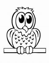 Owl Coloring Pages Cartoon Cliparts Attribution Forget Link Don Sheets sketch template