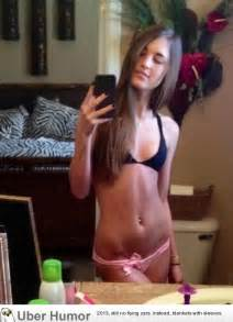 Ugly Teen Girl Selfie