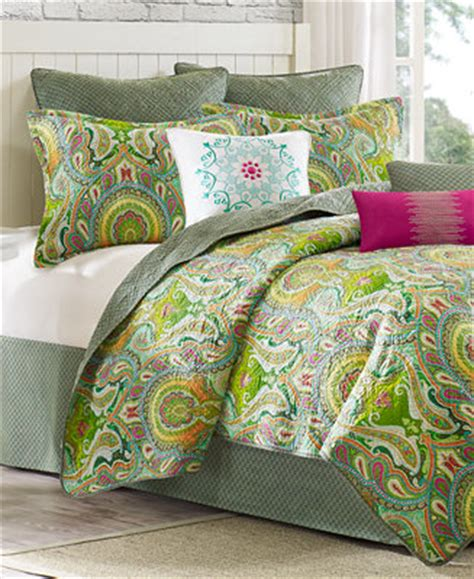 Macys Coverlets by Closeout Echo Taj Coverlet Collection Bedding
