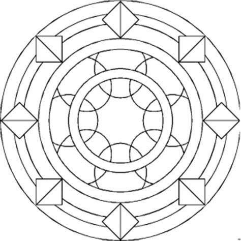 ringe mandala ausmalbild malvorlage mandalas