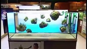Aquarium Deko Steine : schwimmende stein steine im aquarium by oliver knott youtube ~ Frokenaadalensverden.com Haus und Dekorationen