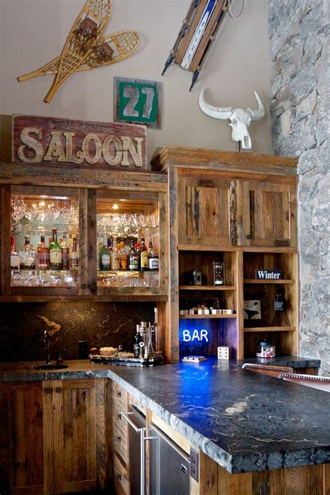 Bar Decor Ideas by 20 Rustic Home Bar Designs For The Best Interior God