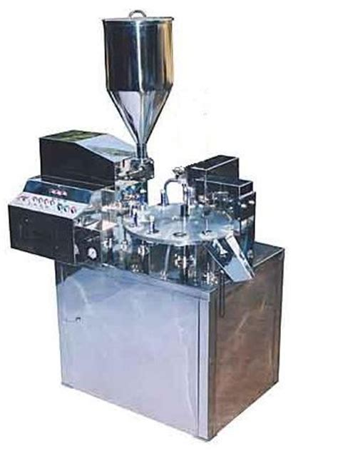 automatic tube filling machine tube sealing  coding machinery thane india