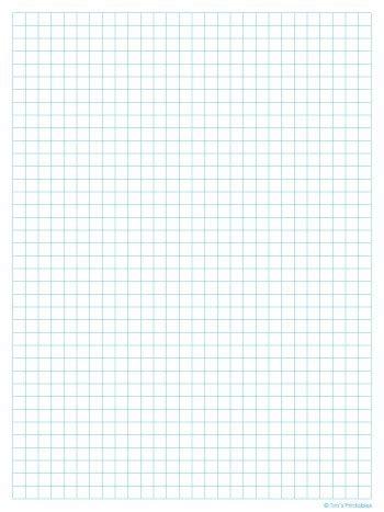 graph paper template quarter  light blue  tims
