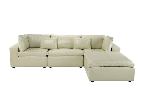 big sofa beige leather lounge sectional sofa l shape with wide