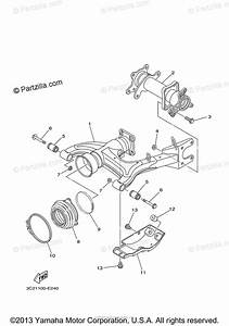 Yamaha Atv 2007 Oem Parts Diagram For Rear Arm