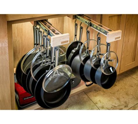 pots and pans rack cabinet kitchen cabinet organizers greatest stuff on earth