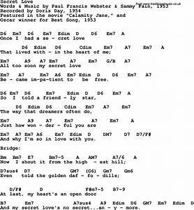 Secret Love (Doris Day song)