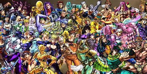 anime characters fight jojo jojo s adventure all battle characters list