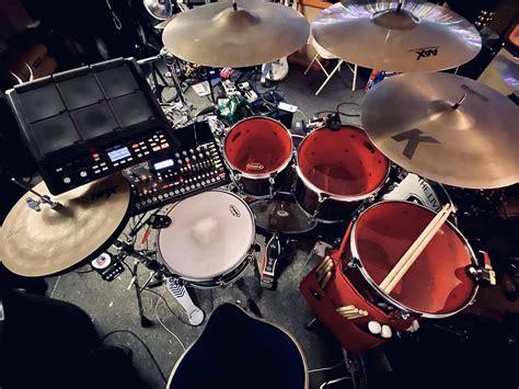 My Hybrid Acousticelectric Set Up Drums
