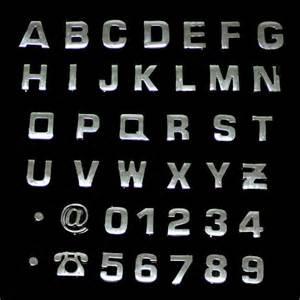 1 set 40pcs chrome car auto 3d emblem badge sticker With chrome stick on letters