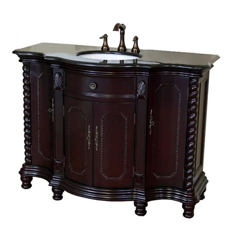 48 bathroom vanity with top and sink 48 inch single sink bath vanity with choice of top