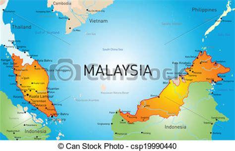 eps vector  malaysia vector map  malaysia country