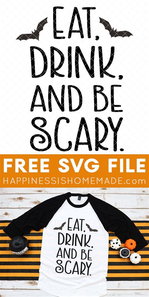 halloween svgs happiness  homemade