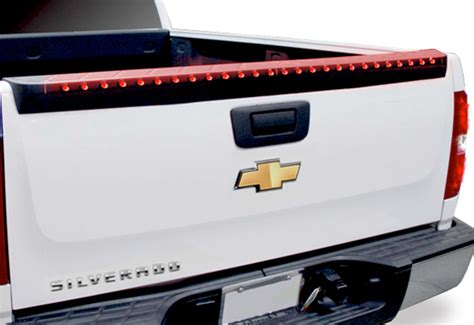 anzo led tailgate spoiler 5 function light bar for trucks