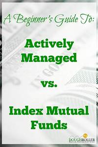 Actively Managed vs. Index Mutual Funds