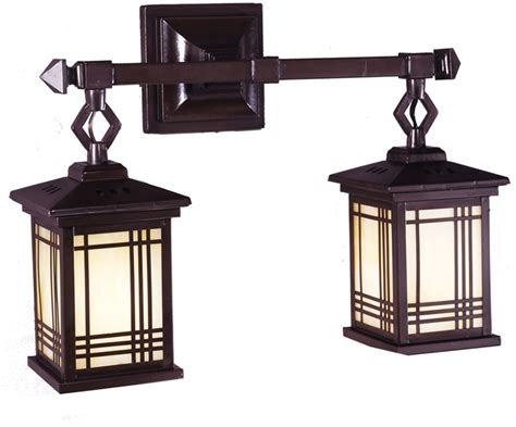Dale Tiffany 2604-2lmw Avery Craftsman Antique Bronze Wall