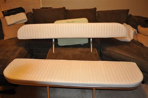Custom Boat Seating Bench by Large Custom Folding Rear Bench Seat And Matching Backrest